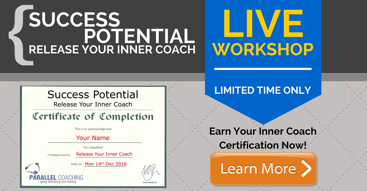 Success potential Live Workshop the work life balance