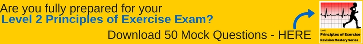 level 2 principles of Exercise Fitness and Health Mock Questions Free