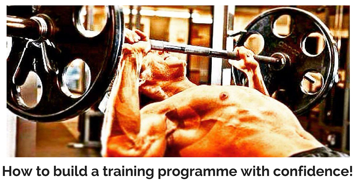 how to build training programmes with confidence