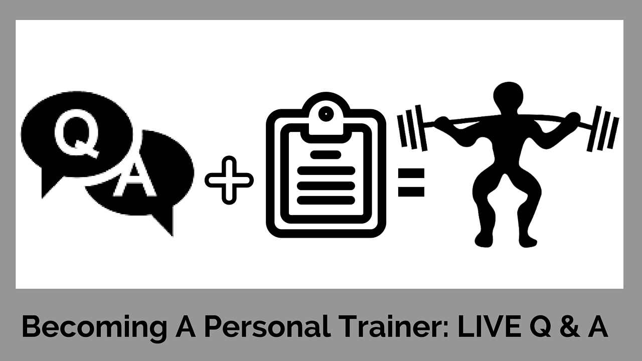 questions about becoming a personal trainer