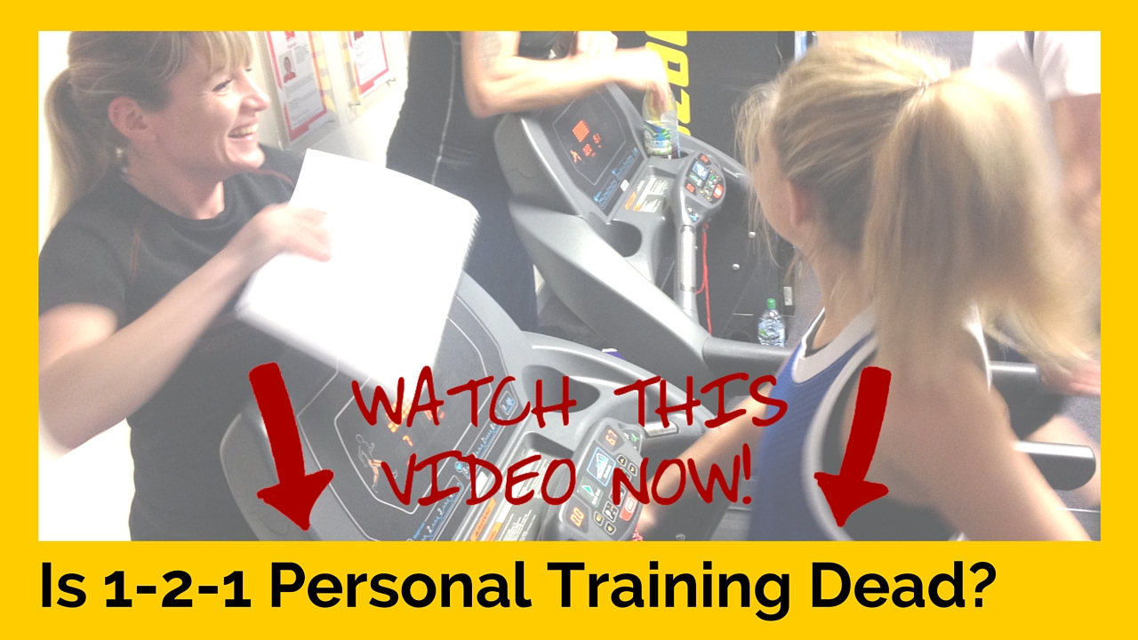 Is 1-2-1 Personal Training Dead?