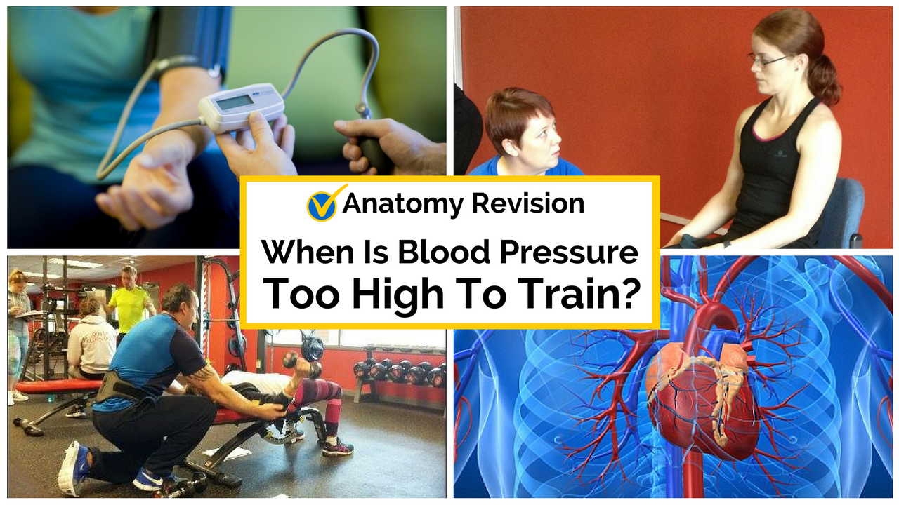 When Is Blood Pressure Too High To Train?