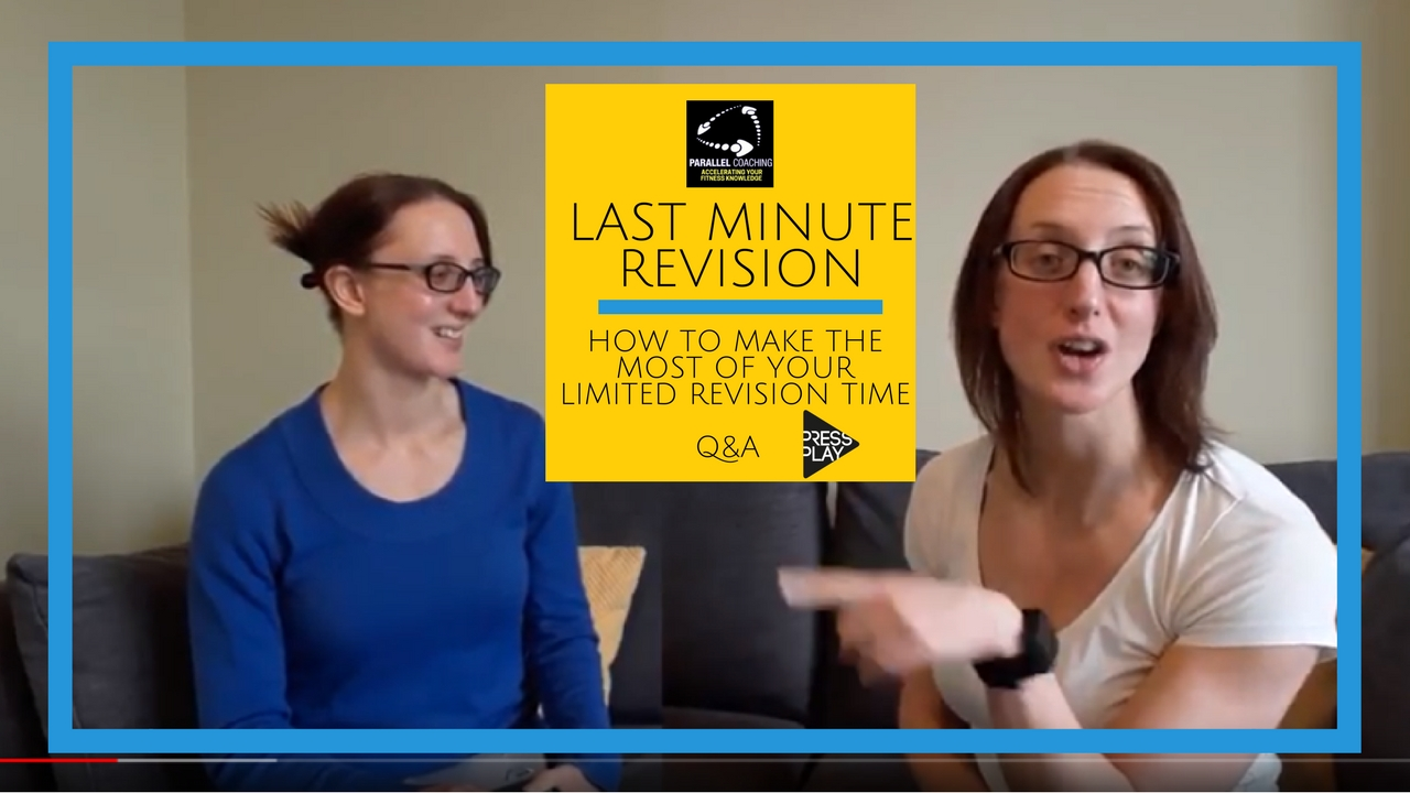 Last Minute Revision: How to make the most of limited revision time Q&A
