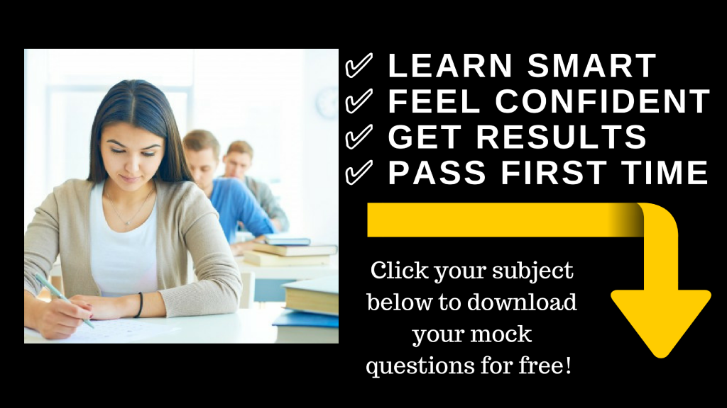 FREE Mock Questions – Fitness Exam Mock Papers