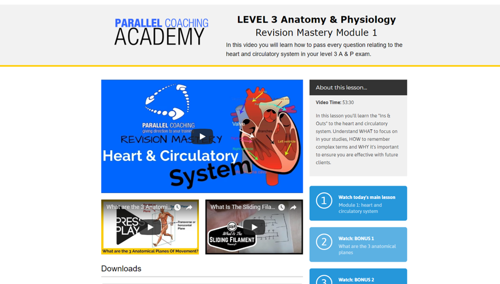 Vistoso Anatomy And Physiology Learning Modules Imágenes - Anatomía ...