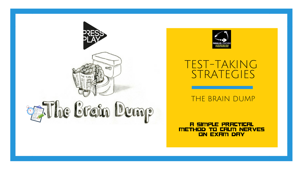 Test taking Strategies - Brain Dump