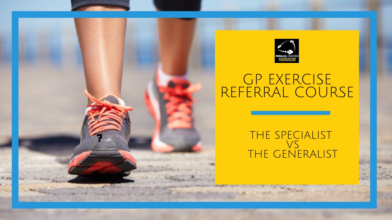 gp exercise referral course- become a specialist i