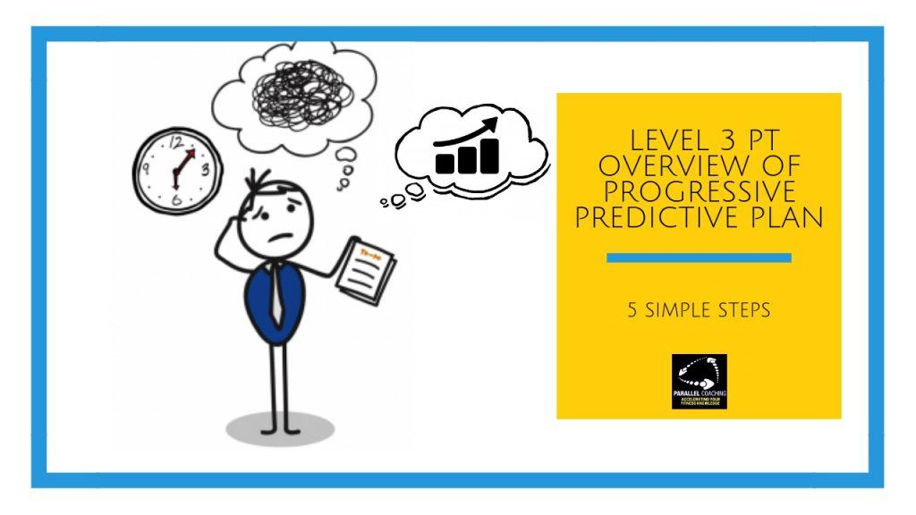 Level 3 PT Overview of Progressive Predictive Plan - In 5 Simple Steps