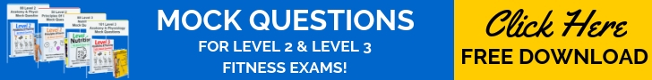 Fitness Exam Mock Questions free download