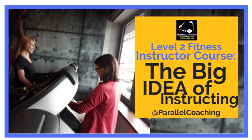 Level 2 Fitness Instructor Course - The Big IDEA of Instructing image