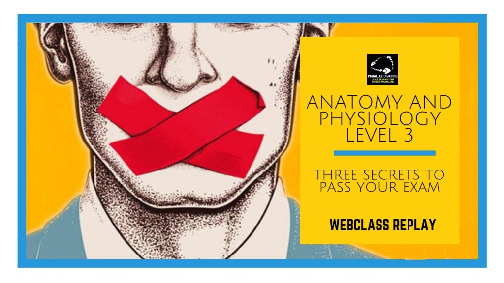 Anatomy and Physiology Level 3 Three secrets to pass your exam