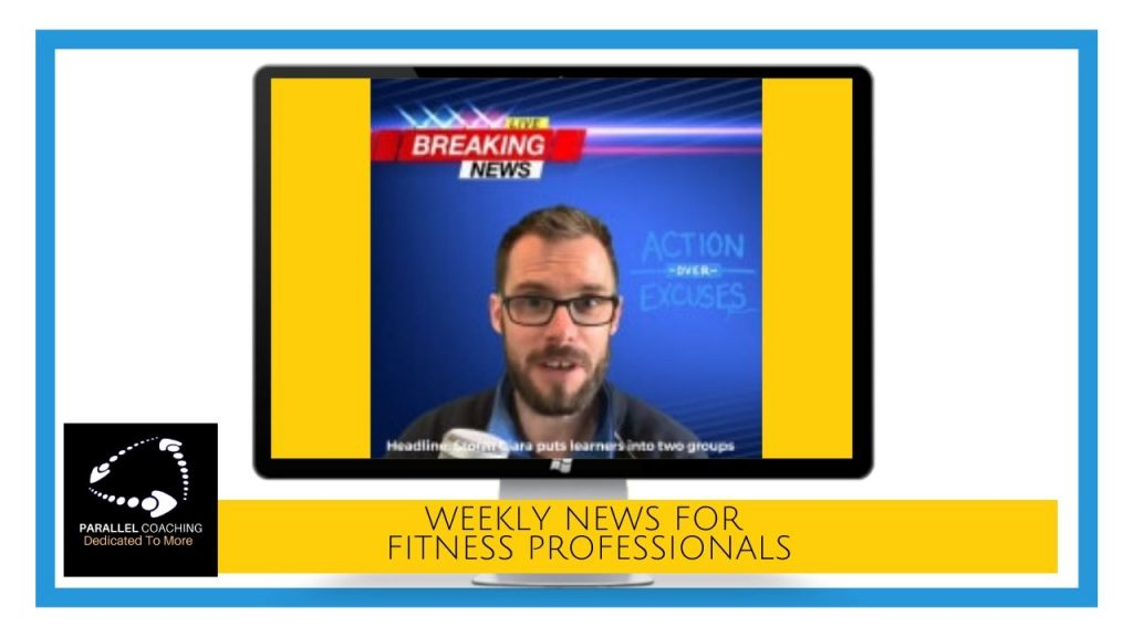 Parallel news - Weekly news for fitness professionals