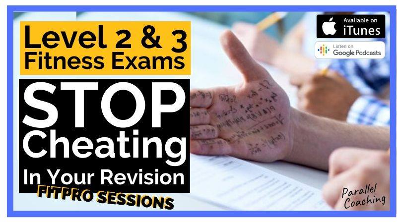 Level 2 and 3 Fitness Exams Stop cheating in your revision