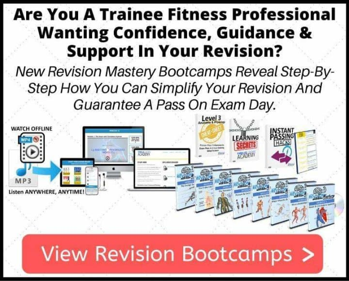 Revision Mastery Bootcamp For Trainee Fitness Professionals