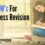 The 3Ws For Effortless Revision